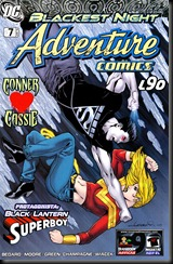 P00024 - 51 - Adventure Comics - Starring Black Lantern - Superboy #7