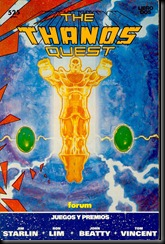 P00002 - Sagas cosmicas de Thanos - 02 Thanos Quest howtoarsenio.blogspot.com #2