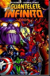 P00003 - Sagas cosmicas de Thanos -  El guantelete del infinito  Dios.howtoarsenio.blogspot.com v1 #3