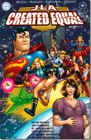 Elseworlds - JLA - Created Equal 01