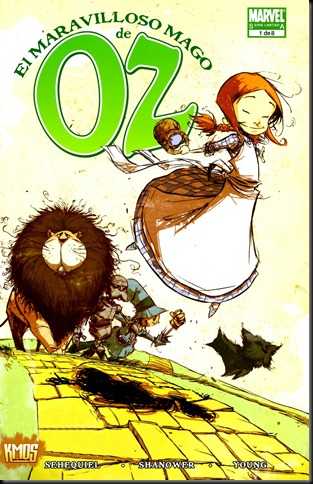 The Wonder World of Oz 001