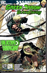 P00026 - Green Arrow y Black Canary #25