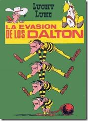 P00015 - Lucky Luke  - La evasion de los Dalton #15
