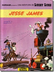 P00035 - Lucky Luke  - Jesse James #35
