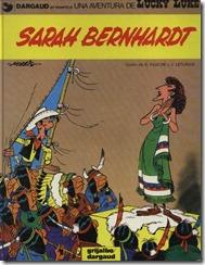 P00049 - Lucky Luke  - Sarah Bernhardt #49