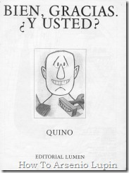 Quino 1976 - Bien, gracias. Y Usted