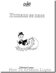 Quino 1991 - Humano se nace