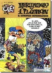 P00017 - Mortadelo y Filemon  - El estropicio meteorolgico.howtoarsenio.blogspot.com #17