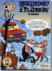 P00091 - Mortadelo y Filemon  - En Alemania.howtoarsenio.blogspot.com #91