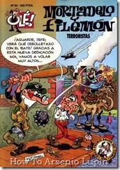 P00092 - Mortadelo y Filemon  - Terroristas.howtoarsenio.blogspot.com #92