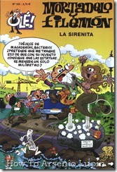 P00155 - Mortadelo y Filemon  - La sirenita.howtoarsenio.blogspot.com #155