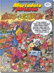 P00159 - Mortadelo y Filemon  - Llego el euro.howtoarsenio.blogspot.com #159
