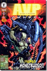 Aliens vs Predator Annual 01