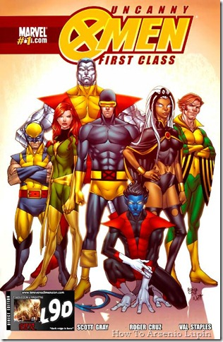 2011-05-07 - Uncanny X-Men First Class