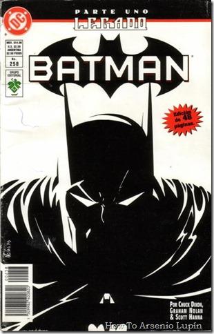 2011-07-07 - Batman - Legado