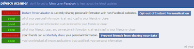 Scan Your Facebook Privacy Levels And Reclaim It