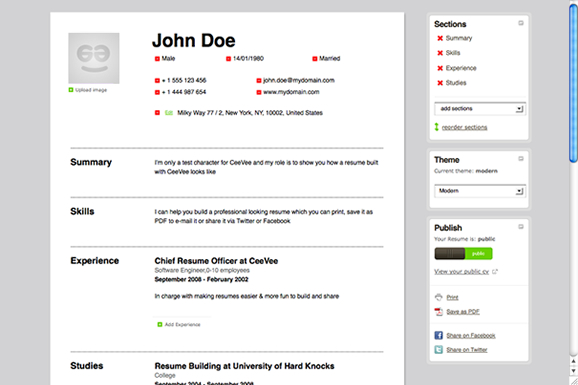 Charming Office Hackery  Create Resume Online