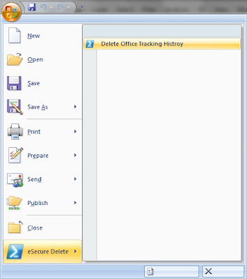 Clear Microsoft Office History with Office Add-In