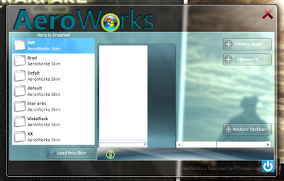 Reskin your Windows 7 Taskbar with AeroWorks