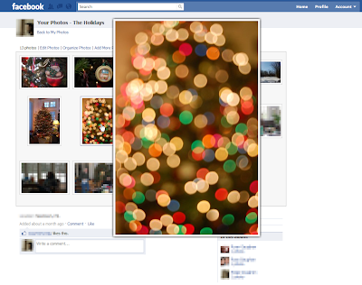 Zoom Facebook Photos On the Same Page In Google Chrome