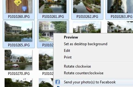 Upload Photos To Facebook From Windows Explorer With Easy Photo Uploader