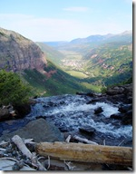 Ingram Falls dropping into Telluride