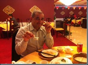 Abe in restaur Beijingant