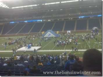 Ford Field Draft Event