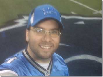 Ty at Ford Field