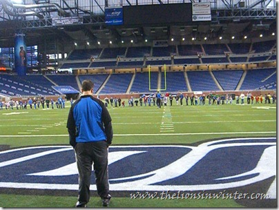 &quot;Touchdown Fun Run&quot; at Ford Field.