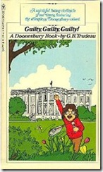 I totally found and read this Doonesbury book when I was a kid.