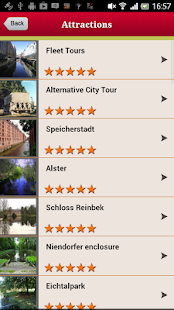 Hamburg Offline Guide - screenshot