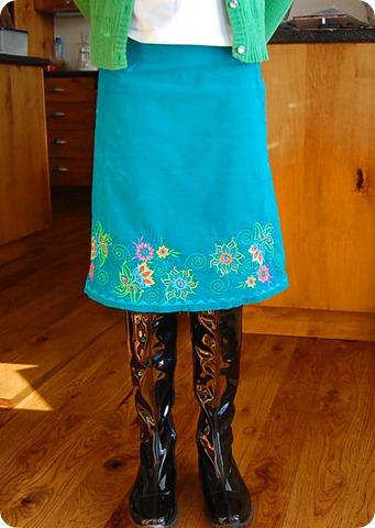turquoise coruroy skirts (7)