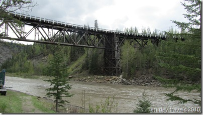 Kiskatinaw River Bridge, Alaska Hwy, 17 miles north of Dawson Creek