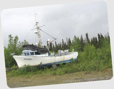 Kenai fishing boat, June 2010