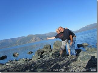 And here's Kluane Lake!