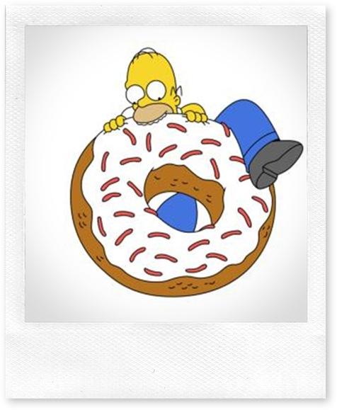 homer-donut