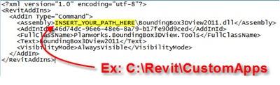 Edit path in Addin