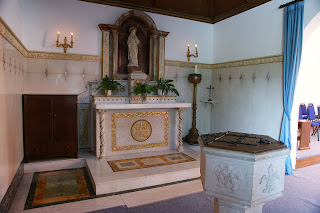 Side alter with original font