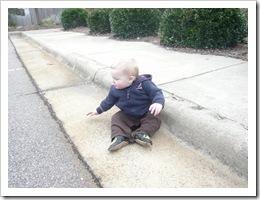 SittingBySidewalk