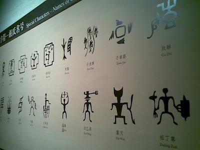参观中国文字博物馆