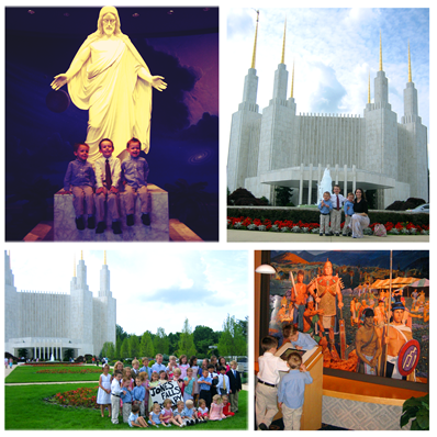 Washington DC Temple Trip Collage copy