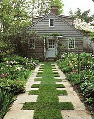 grass path martha stewart.com milk and honey home