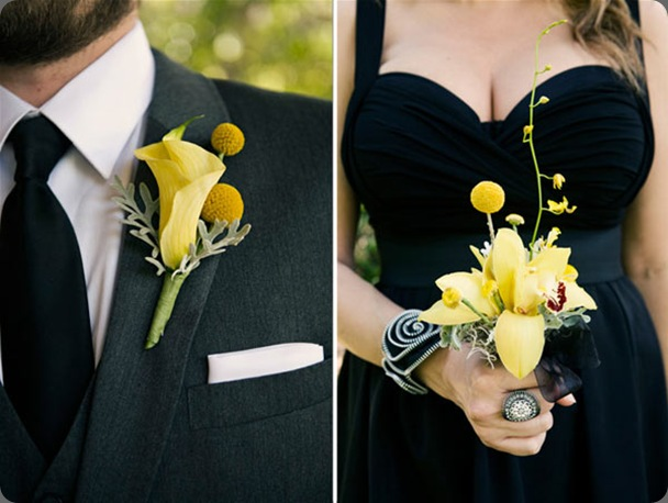 black-yellow-wedding-decor16 ruffled
