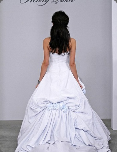 wedding dress seer sucker back best