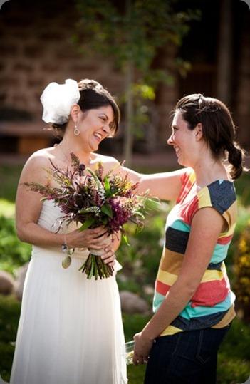 Talia Events and Cori Cook Floral Design cori presents bouquet