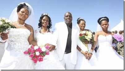 Milton_Mbhele_4_wives
