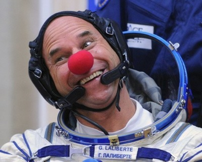 Space Clown Guy Laliberte