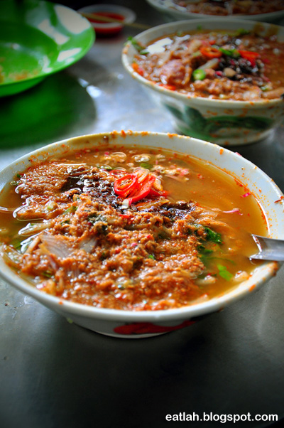 Famous Penang Asam Laksa @ Air Itam, Penang where and what to