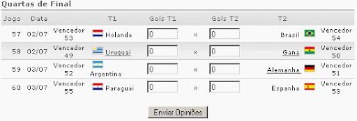 simulador de jogos da copa do mundo 2010